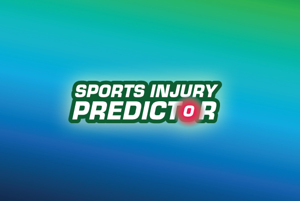 Sports Injury Predictor Branding, Website & App