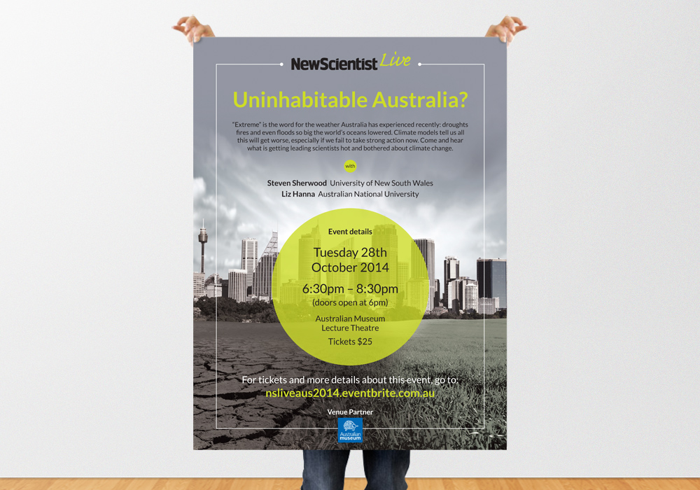 New Scientist Live Poster